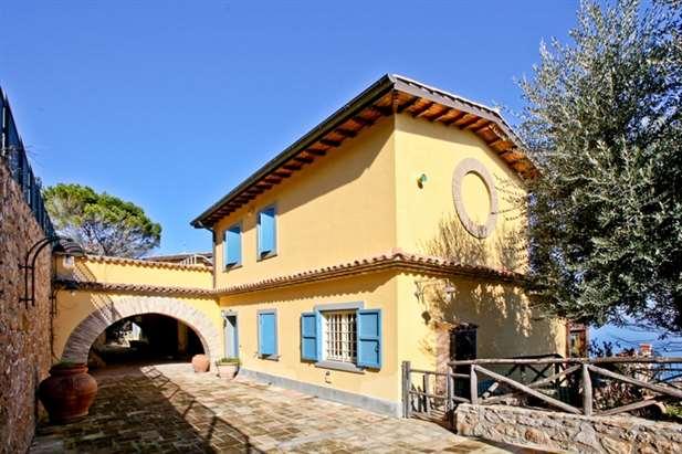 Vendita villa di lusso sul mare grosseto toscana for Immobili di lusso vendita